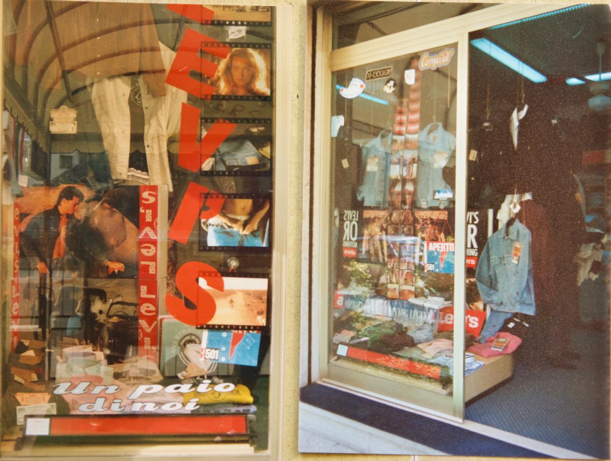 best loved 4e2e8 88b37 Il nostro negozio di abbigliamento negli anni 80
